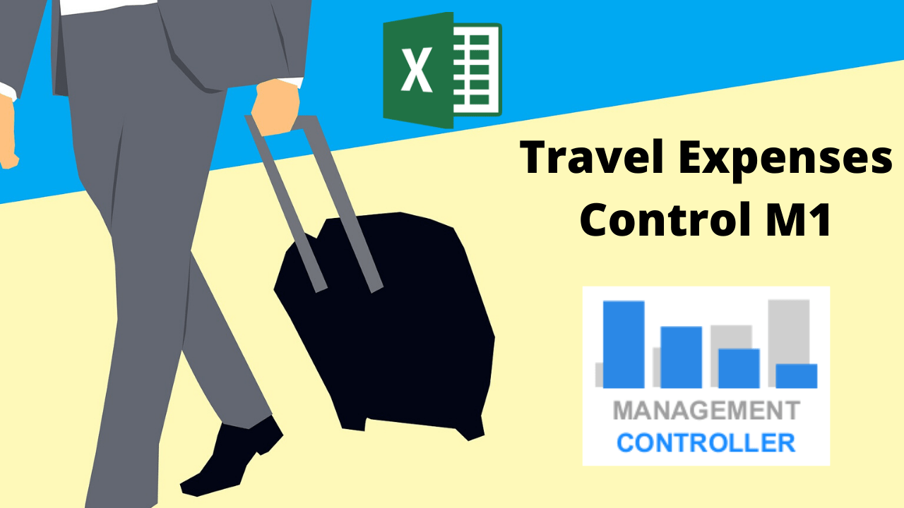Excel Template Travel Expenses Control