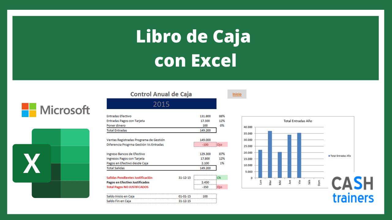 Plantilla Excel Libro de Caja