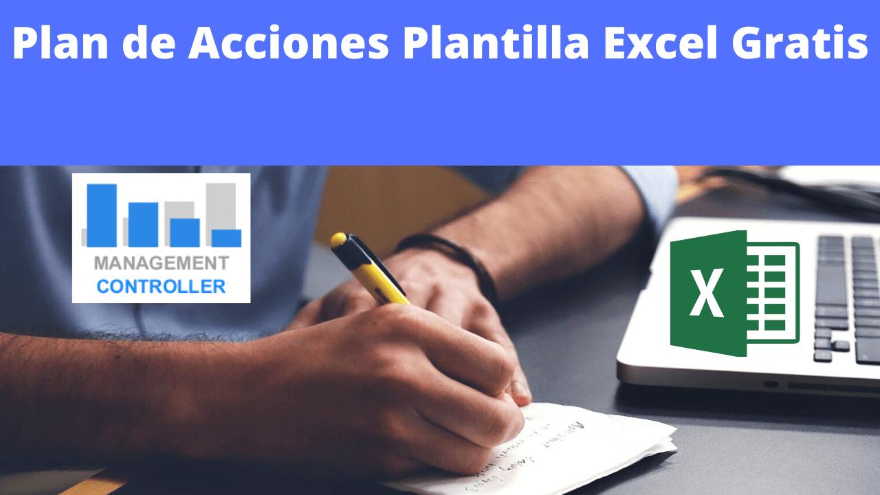 Plan de Acciones Plantilla Excel Gratis