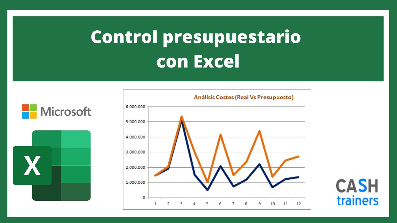 Plantilla Excel Control presupuestario