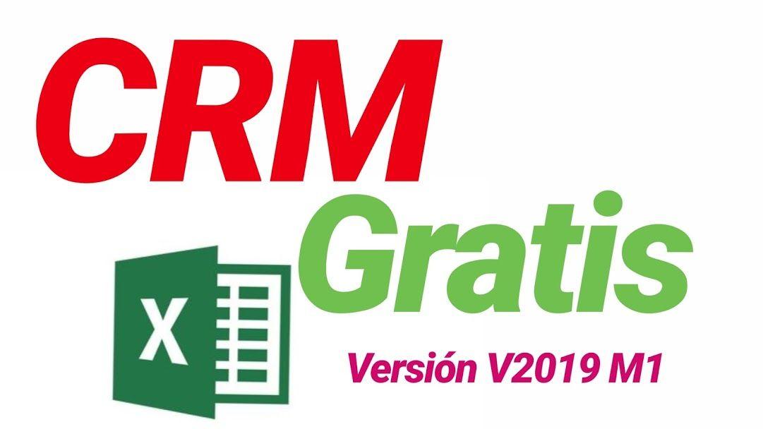 Plantilla Excel gratis CRM