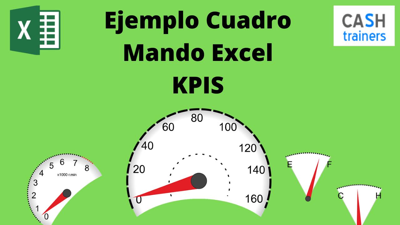 Ejemplo Cuadro Mando Excel KPIS