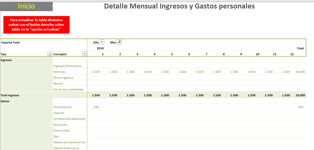 04 detalle mensual ingresos y gastos personales excel