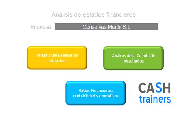 análisis estados financieros con excel