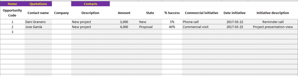 Opportunities-CRM-Excel-template