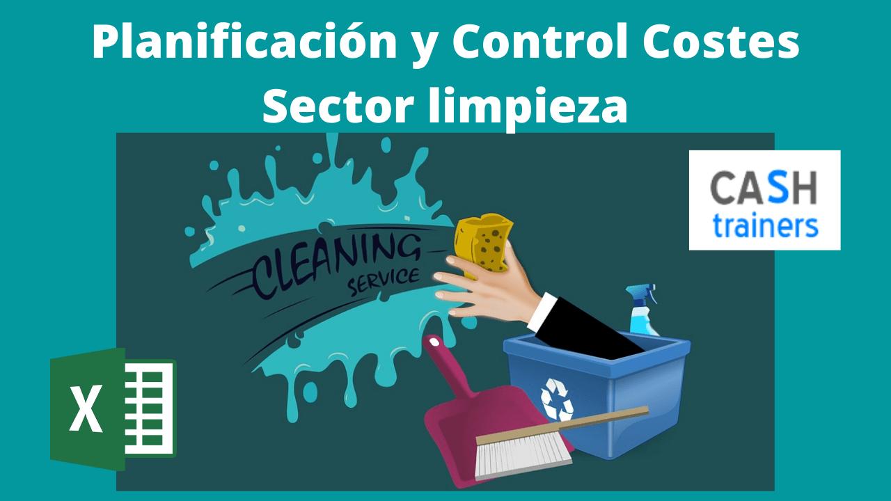 Planificación y Control Costes Sector limpieza Excel