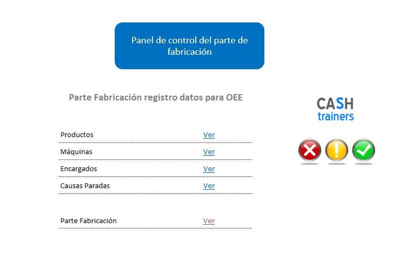 Panel-Control-parte-fabricación-registro-datos-OEE-plantilla-excel