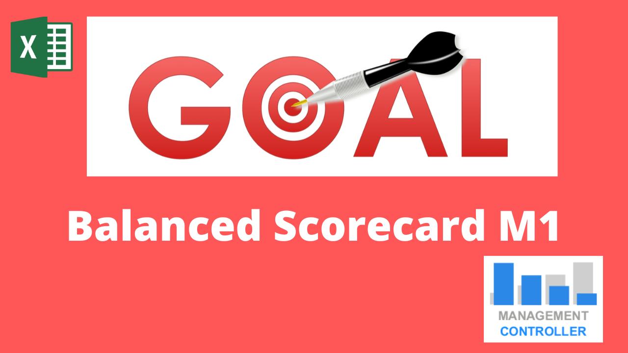 Balanced Scorecard M1 Excel Template