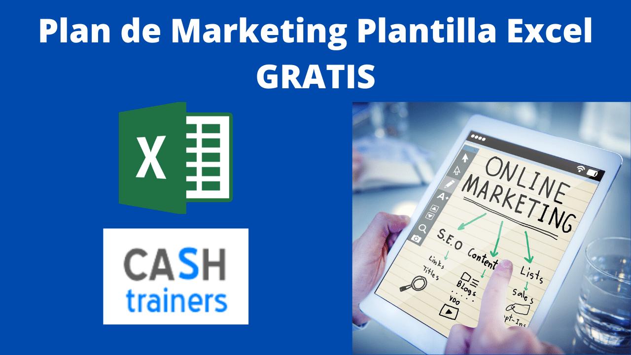Plan de Marketing Plantilla Excel GRATIS