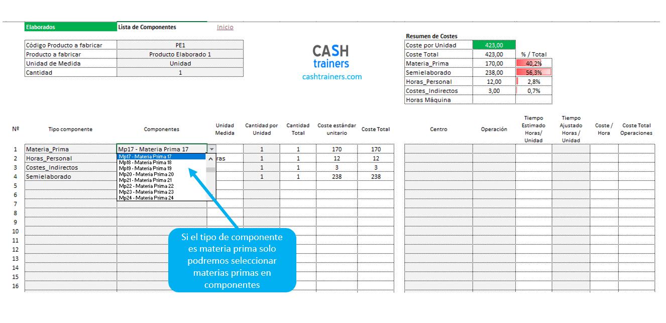 selección-conceptos-de-costes-en-escandallos-plantilla-excel