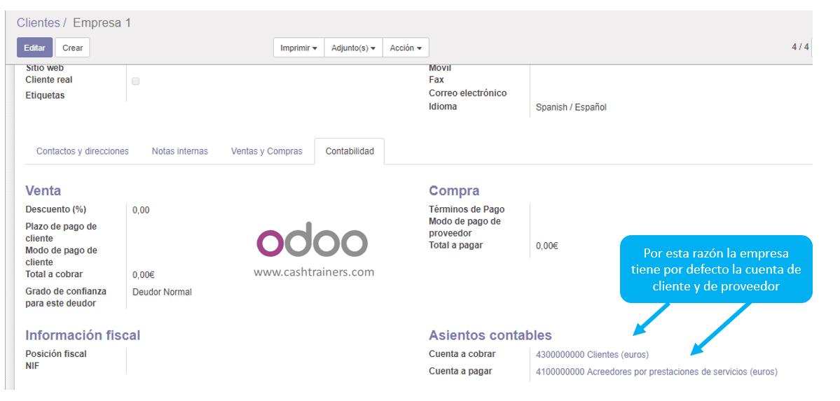 cuenta-contable-cliente-proveedor-ficha-empresa-ERP-ODOO