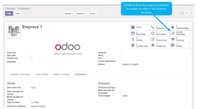 acceso-a-facturas-emitidas-desde-ficha-empresa-ERP-ODOO