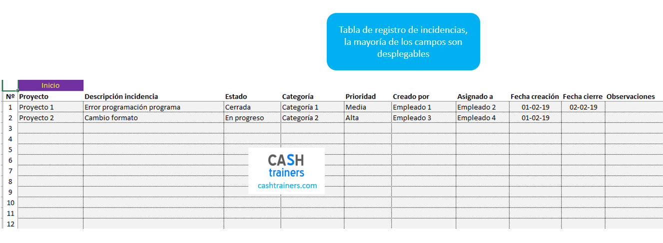 Tabla-registro-incidencias-asociadas-a-proyectos-plantilla-Excel