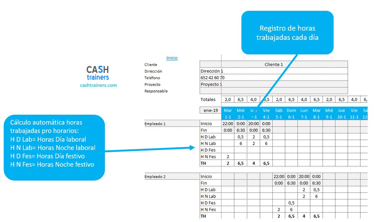 registro-y-clasificación-horas-proyectos-plantilla-excel