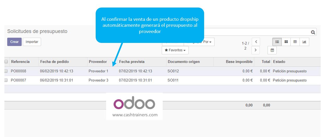 pedido-compra-automático-dropship-ERP-ODOO