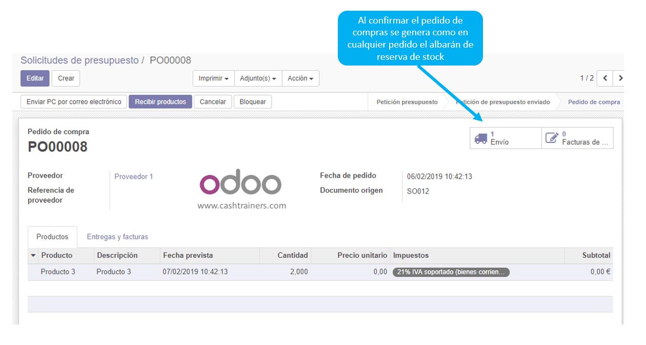 albarán-compras-dropship-ERP-ODOO