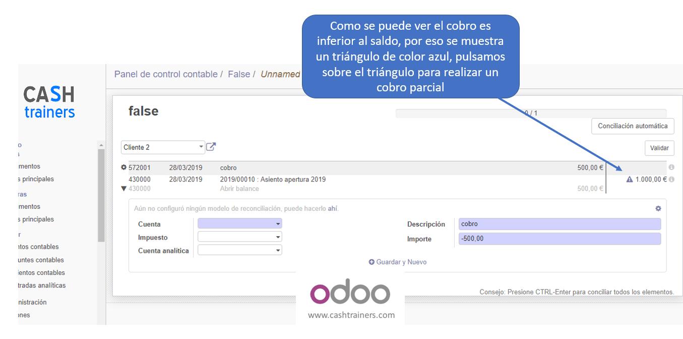 conciliación-parcial-extracto-bancario-ERP-ODOO
