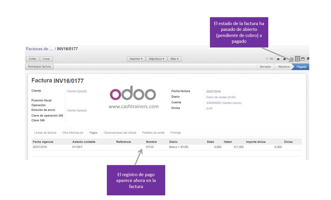 estado-de-la-factura-después-del-cobro-ERP-ODOO