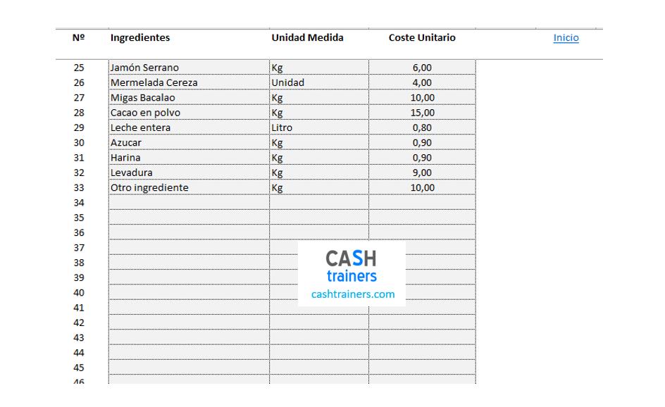 registro-costes-unitarios-ingredientes-cálculo-costes-recetas-plantilla-excel