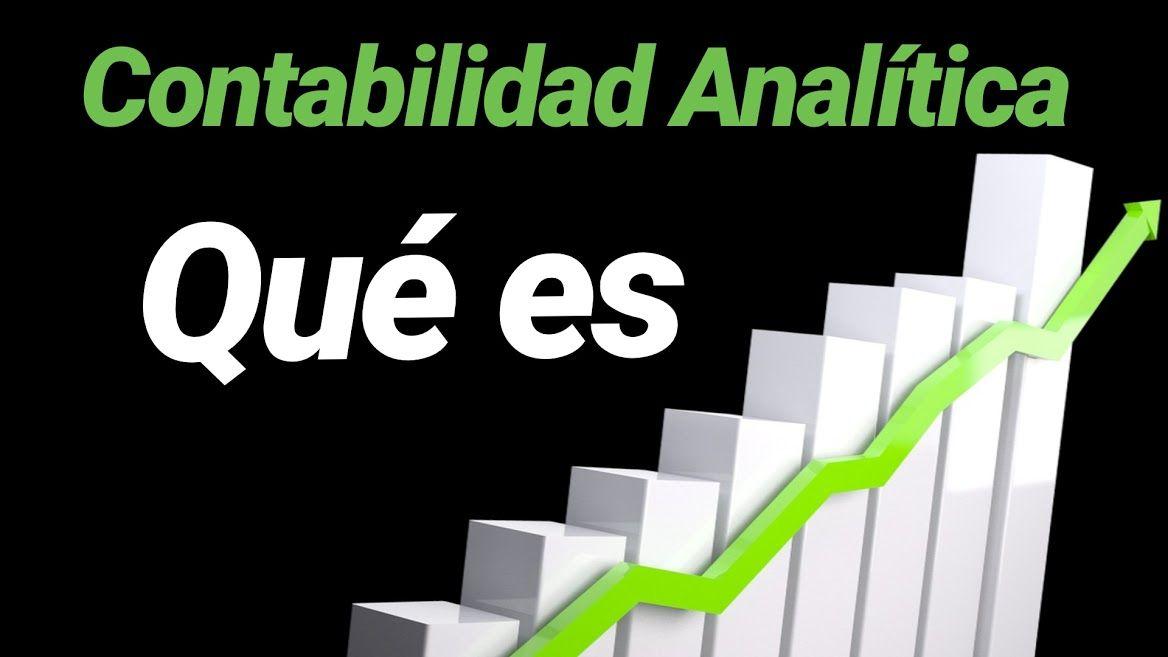 Qué es contabilidad analítica