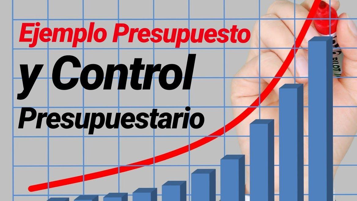 Ejemplo presupuesto y control presupuestario