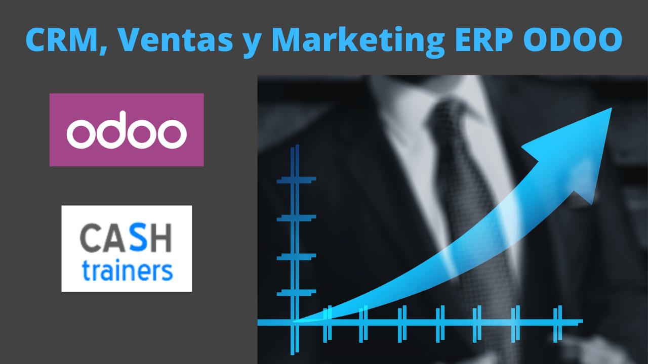 CRM, Ventas, y Marketing ERP ODOO