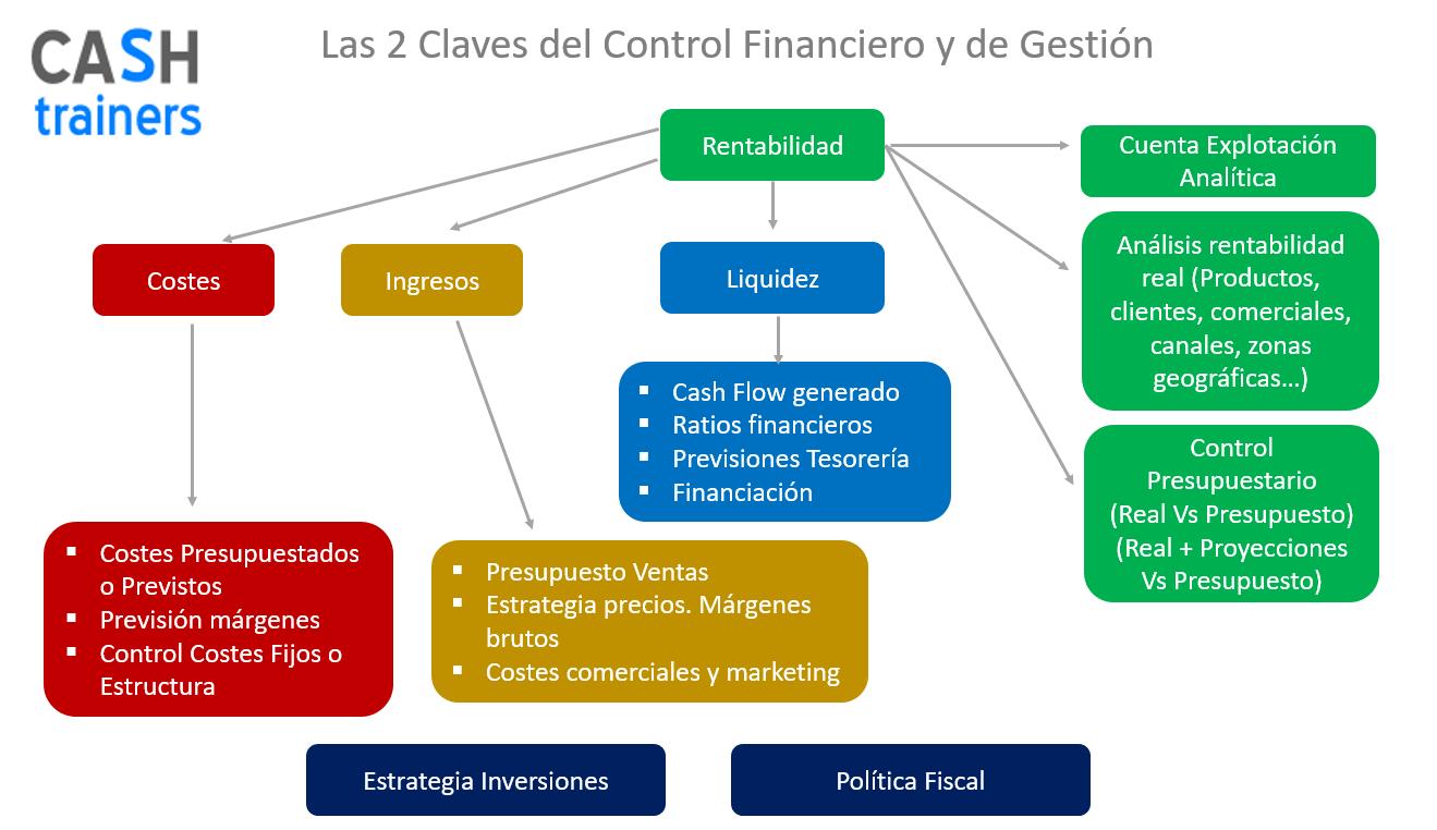 Las 2 claves del Control Financiero y de Gestión en las empresas