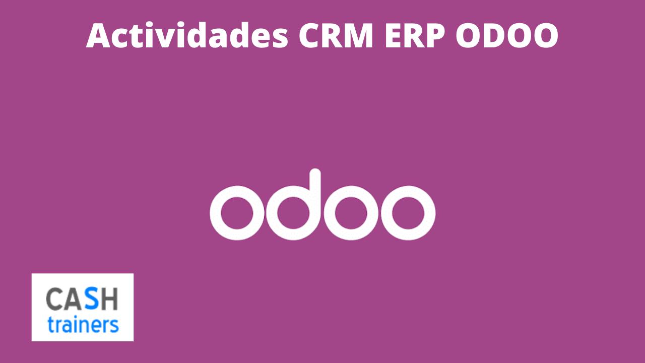 Actividades CRM ERP ODOO