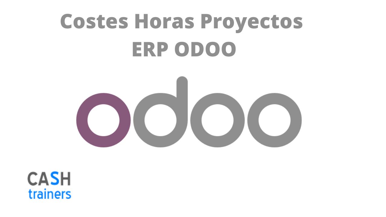 Costes Horas Proyectos ERP ODOO