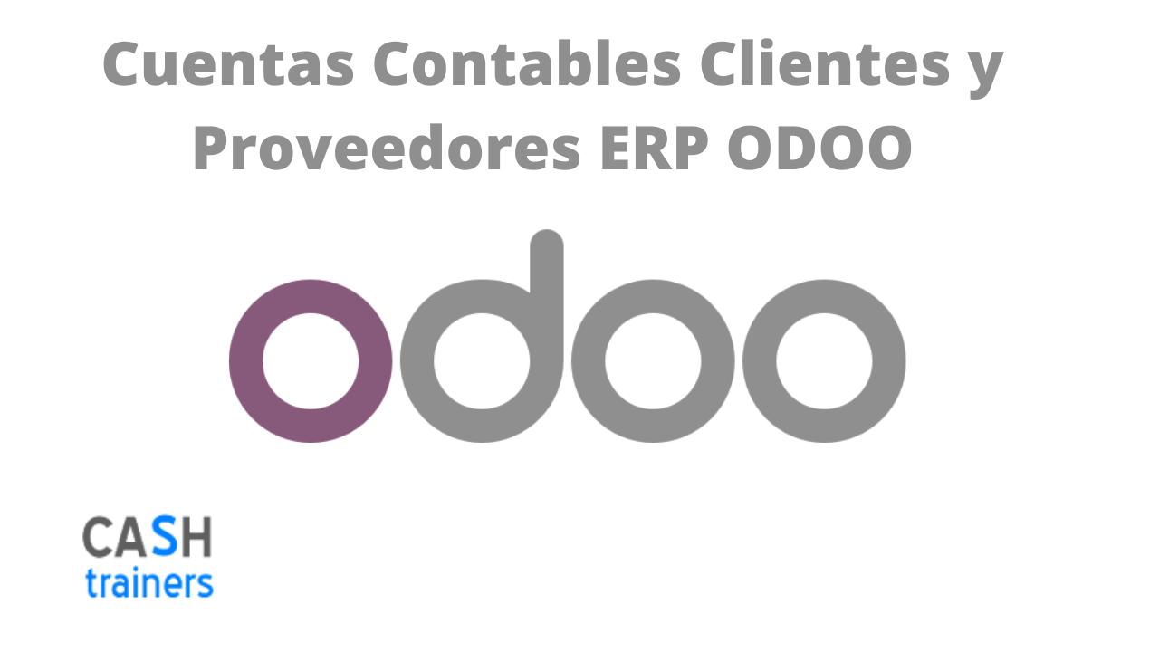 Cuentas Contables Clientes y Proveedores ERP ODOO
