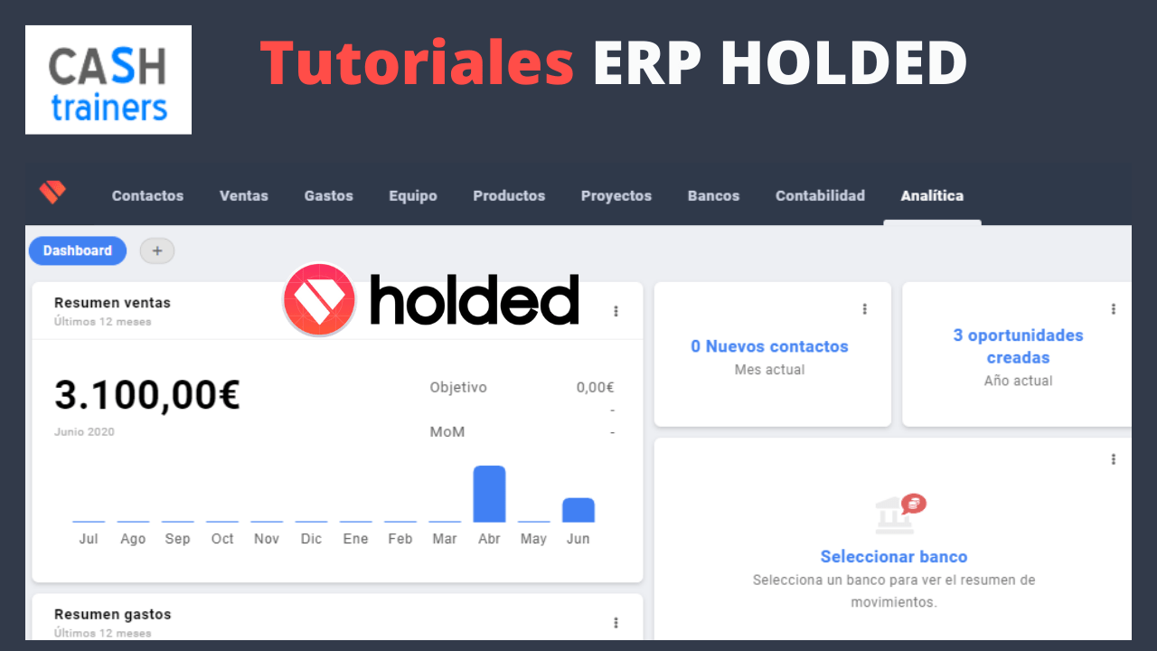 Tutoriales ERP HOLDED