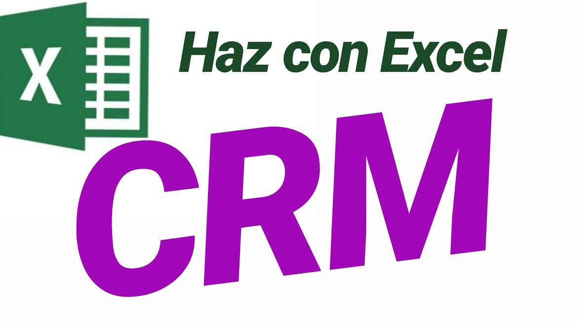 hacer excel CRM