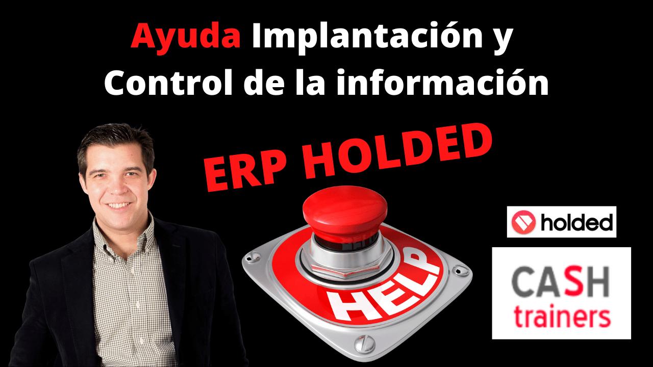 Ayuda Implantación y Controlling ERP HOLDED