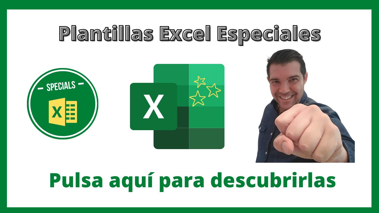 Plantillas Excel Especiales