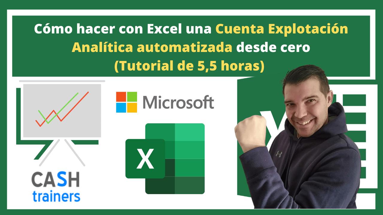 Cómo hacer con Excel una Cuenta Explotación Analítica automatizada