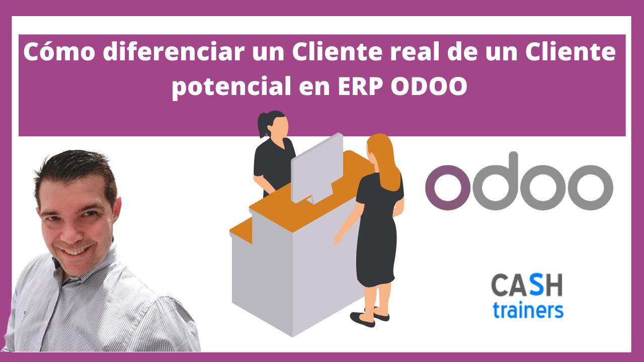 Clientes reales Vs potenciales ERP ODOO