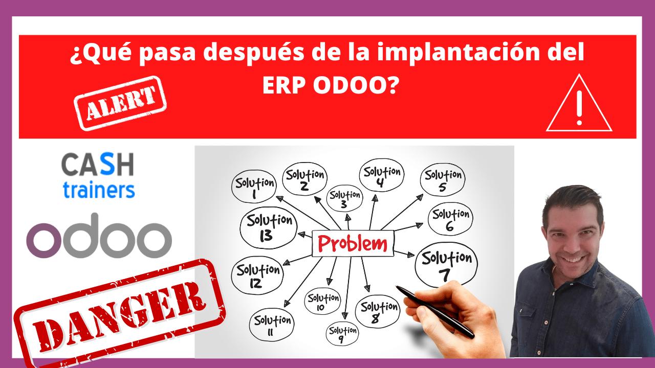 Qué pasa después de la implantación del ERP ODOO