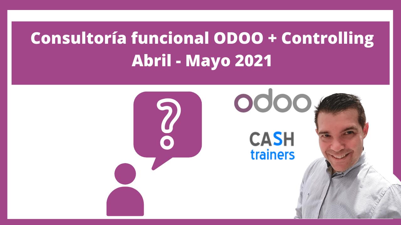 Consultoría funcional ODOO + Controlling Abril - Mayo 2021