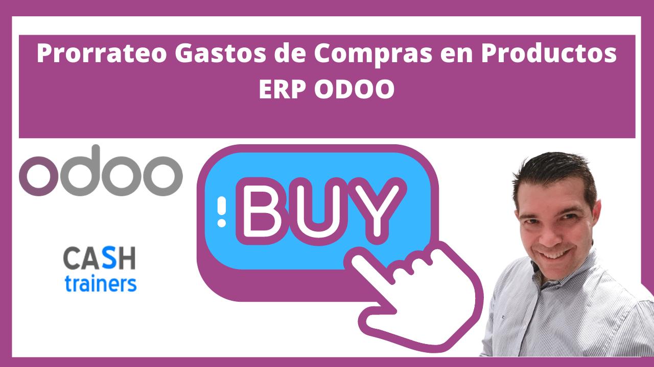 Prorrateo o distribución de Gastos de Compras en Productos ERP ODOO