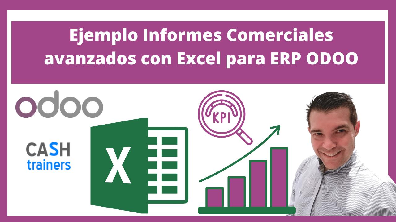 Ejemplo Informes Comerciales avanzados con Excel para ERP ODOO