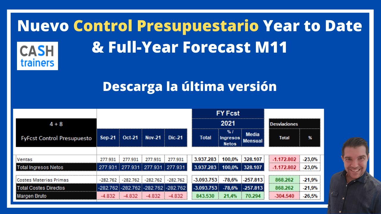 Control Presupuestario YTD FyFcst M11