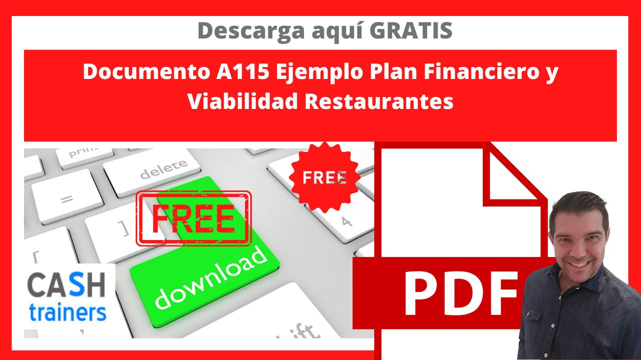 Ejemplo Plan Financiero y Viabilidad Restaurantes